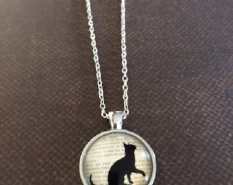 Cat Necklace - Cat Necklace in Handmade - Cat Jewelry - Cat Jewlery - Cat Lover Gift - Cat Lover Jewelry - Cat Jewelry Necklace - Necklace
