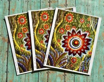 Growth ~ Digital Art Print, nature flower art