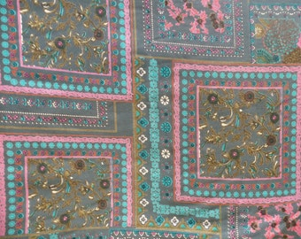 Rayon Challis Fabric by the Yard, Printed Rayon by the Yard, Yardage