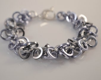 Lavender  Chainmaille Bracelet
