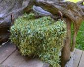 Peluche naissance Mini doudou tricot bébé PHoTO PRoP vert forêt posant couche floue tapis doux épais fourrure épaisse panier Stuffer Pick couleur PAD