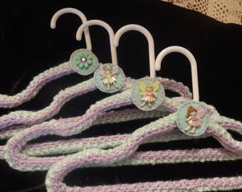 Children's Crocheted Hangers