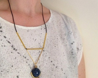 Planets Align Necklace on Cord