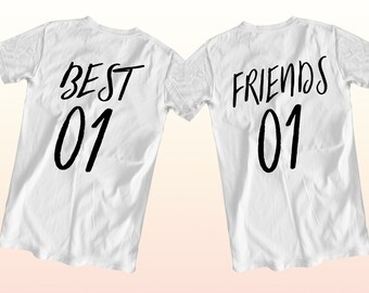 2 tee shirt meilleure amie