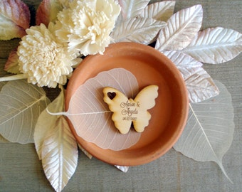75 Wood Butterfly Wedding Favors Butterflies