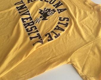 Awesome Vintage Super Soft Arizona State University T Shirt