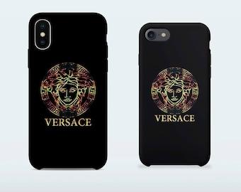 Versace phone case for iPhone X iPhone 8 Plus 7 Plus iPhone 6 6S Plus iPhone 5 5S SE Samsung Galaxy S7 Edge S8 Plus