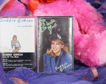 2 Debbie Gibson Cassette Tapes
