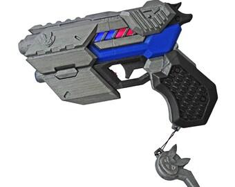 D.Va light gun pistol Officer Skin prop from Overwatch. With LED's