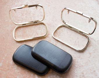 "Supplies | Set of 5 | 6"" Clamshell Clutch Frame & Shells"