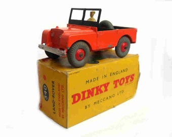 1960s Vintage Dinky 340 Jeep Toy Collectible England