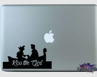 Kiss The Girl Car Decal