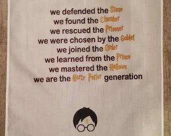 Harry Potter Flag