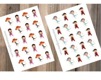 Tae-Kwon-Do/Karate Stickers