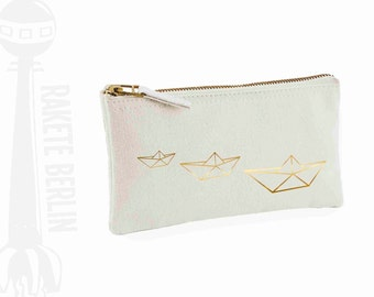 pencil case 'origami boat'