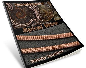 Wire wrap tutorial - spiral.