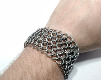 Chainmaille European 4 in 1 Bracelet