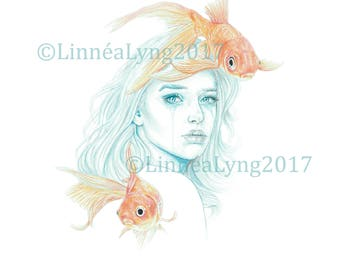 """Untitled, but goes by """"Goldfishgirl"""""""