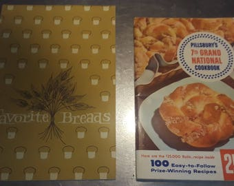 Cook Booklets - Favorite Breads - Pillsbury's 7th Grand National Cookbook