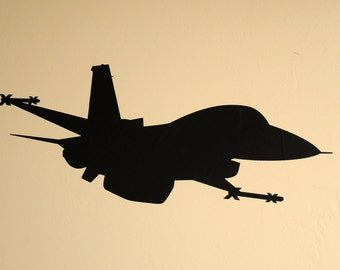 Fighter Jet - Wall Decal