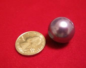"""8pc """"purple"""" imitation pearl spacer beads (BC669)"""