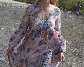 Isa Dress-Floral print