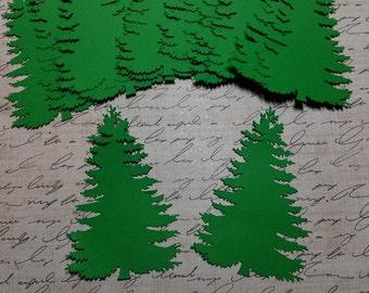 Die Cut Christmas Trees/ Pine Trees/ Ever greens  #C-20
