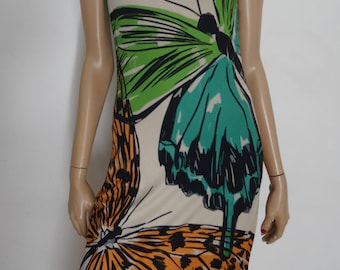 dress EROKE butterflies in Italy 36 - uk size us 4 - 8