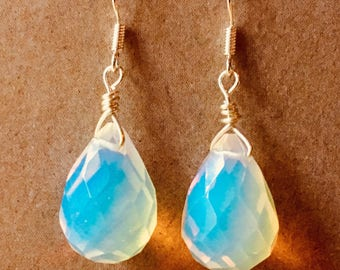 Crystal drop earrings
