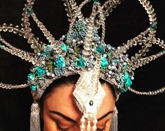 Headdress -Jewelled Goddess