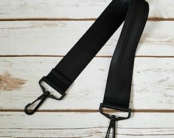 Black Short Strap