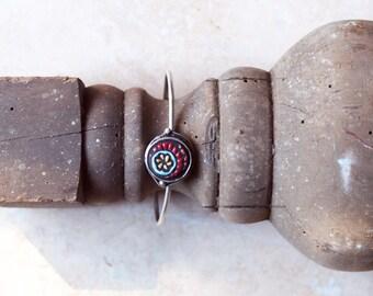 Cuff Bracelet Adjustable Bracelet Boho Bracelet Boho Jewelry Handmade Tile Layering Bracelet Gift for Her Gift for Women Gift for Friend