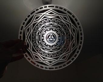 Twilight Mirror Replica Prop from Zelda