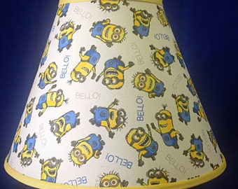Minions Lamp Shade