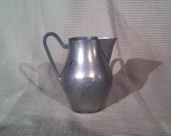Pewter Milk Pitcher