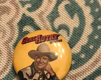 Vintage Gene Autry Comics Pin