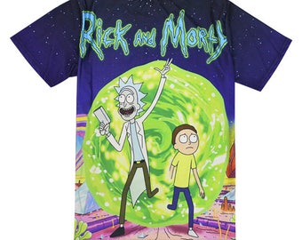 Super Funny Rick and Morty T shirt Tees Top summer trendy style 2018 cute funny unisex clothing fashion gift