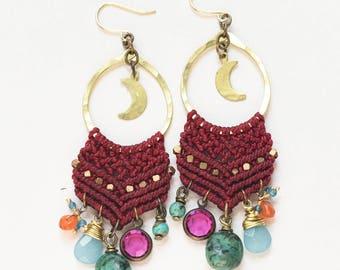 Celestial Woven Earrings