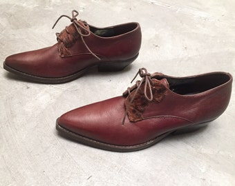 Dead Stock Coniac Leather Oxfords