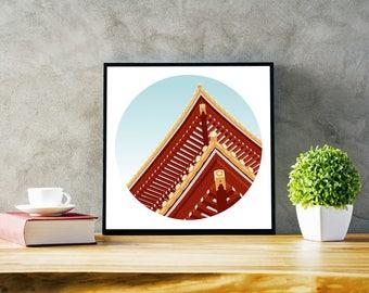 Custom Travel Illustration - Your Photo, My Illustration! Downloadable Travel Print