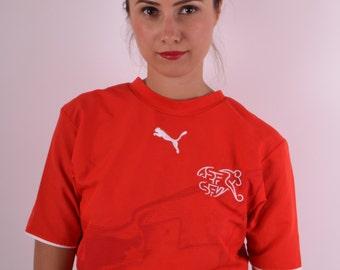 Puma Switzerland T-shirt/ Jersey Size XS (516)