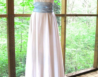 CUSTOM Princess Dress, White, Vintage Style, True Story Priness Dress for wedding, party, or garden tea time