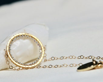 Bracelet end gold minimalist bracelet Beads Bracelet gold gold chain fine 14Kt, gift for woman