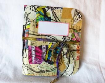 Collaged Mess #1 - Handmade Art Journal