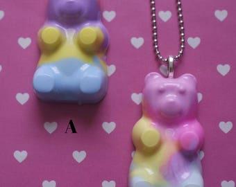 Pastel Gummybear Necklace