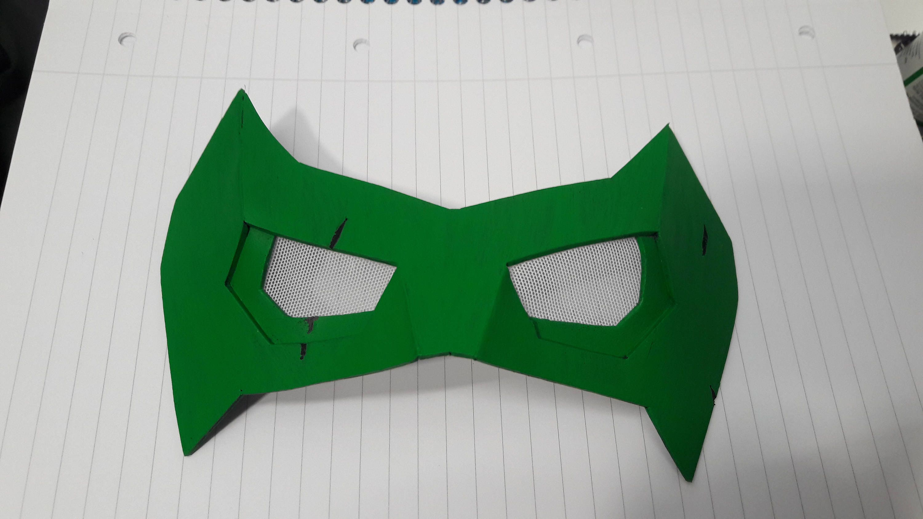 Robin / Nightwing Cosplay Eye Mask / Domino Mask Foam Template de ...