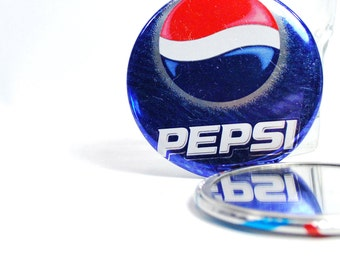 Recycled Pepsi soda can Pocket Mirror