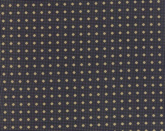 Moda LEXINGTON Quilt Fabric 1/2 Yard By Minick and Simpson - Indigo 14788 16