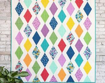 Cascade quilt pattern from Cluck Cluck Sew