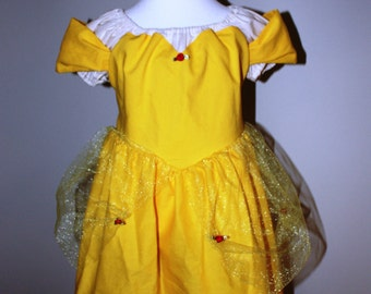 Disney's Beauty and the Beast Inspired Belle Gown